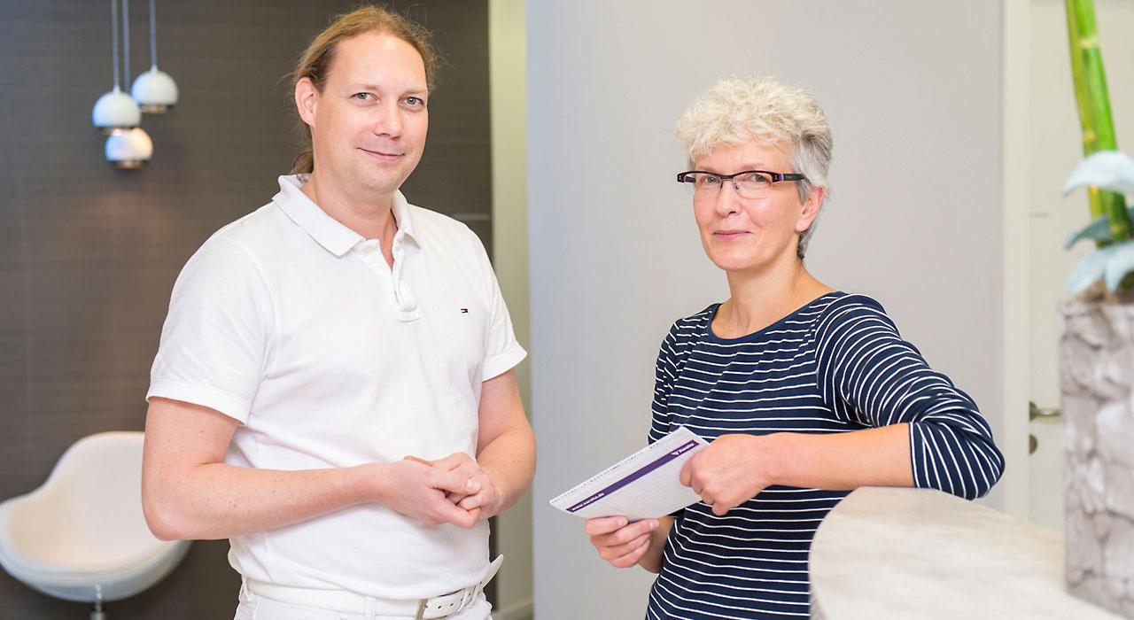 Dr. med. Peer Bornmann und Kathrin Mier